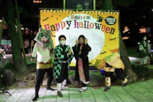 ハロウィンパーティ2020★社員は「鬼滅の刃」の仮装で接客しました♪
