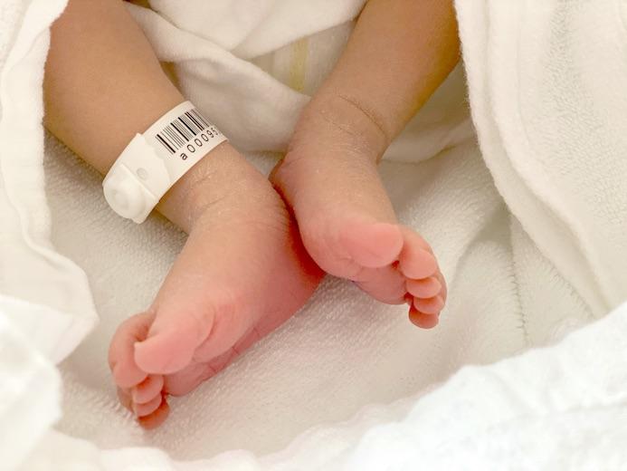 この度、第三子 長男を出産いたしました。