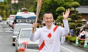 東京2020オリンピック聖火リレーの応援に行ってきました。